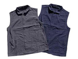 remilla レミーラ Rip Vest リップ ベスト 3色(ネイビー/グレイ/サンドカーキ)