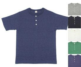 WAREHOUSE ウエアハウス 4601 ヘンリーネック Tシャツ