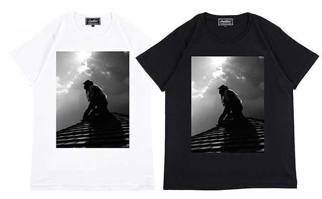 """Amplifier アンプリファイア """"hide"""" TEE design F ヒデ X Japan 2色(Black/White)"""