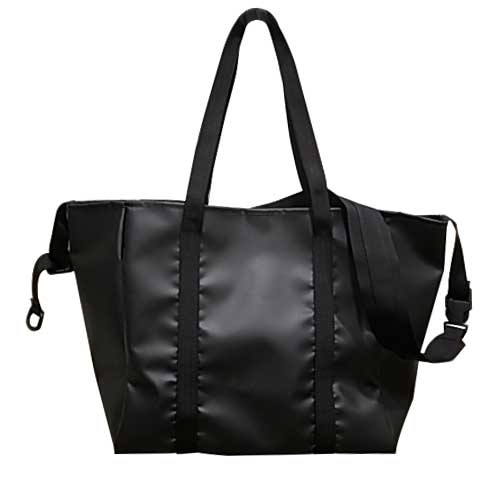 MIS エムアイエス ALL WEATHER 2WAY TOTE BAG オールエウェザー 2ウェイ トート バッグ MADE IN CALIF USA Black