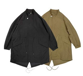 KIFFE キッフェ HOODLESS M-65 フードレス ジャケット ブルゾン ロング Sサイズ 2色(BLACK/OLIVE)