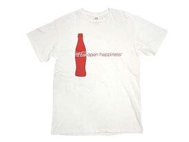 Coca Cola コカコーラ open happiness S/S TEE 半袖 Tシャツ 新品 WHITE