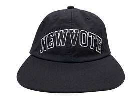 ★SALE 20%OFF★ VOTE Make New Clothes ヴォート メイク ニュー クローズ NEWVOTE ACH LOGO CAP キャップ BLACK