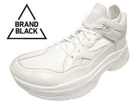 【SALE】 BRANDBLACK ブランドブラック SAGA サガ ダッドスニーカー WHITE ホワイト VIBRAM ビブラムソール