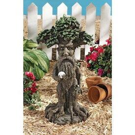 神秘的なオーブを持った 木の髭 エント 彫像 彫刻 置物/ 指輪物語 シルマリルの物語 木の牧人 ガーデニング プレゼント 贈り物(輸入品