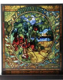 ティファニー サマー ステンドグラス/ チャールズルイスティファニー ニューヨーク コレクション 新築祝い記念品プレゼント贈り物(輸入品