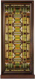 フランク・ロイド・ライト/ オーク・パーク/スカイライト・ステンドグラス 彫像 彫刻 パブ レストラン 設計室 プレゼント(輸入品)