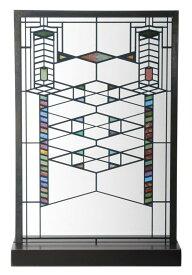 フランク・ロイド・ライト アートグラス ロビー・ハウス ステンドグラス おしゃれなガラス工芸/ 建築インテリア プレゼント贈り物(輸入品
