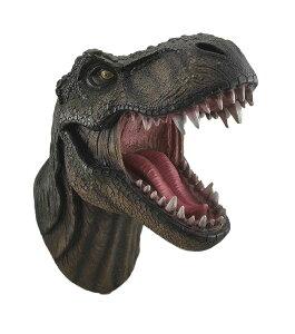 「恐竜の王様」 T-レックス 胸像 ウォール・マウント 壁掛け彫像 彫刻 中生代白亜紀末期 北アメリカ大陸 肉食恐竜 ジュラシック・パーク/ Jurassic King T-Rex Head Wall Mount(輸入品