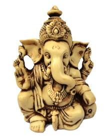 夢をかなえるゾウ ガネーシャ像 アンティーク風仕上げ ヒンズー教の神像 彫像 彫刻 高さ 約9cm(輸入品)富の神様 除災厄除・財運向上