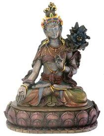 白多羅(ターラー)観音菩薩 慈悲と長寿の仏像彫像 チベット仏教美術 大乗仏教 書斎 プレゼント 加護 インテリア/ Buddhist White Tara Religious Buddhism Statue(輸入品)