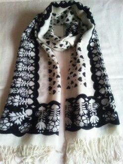 颜色的羊绒围巾羊绒围巾围巾春夏季特别、 时尚设计帽子黑色