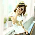 Tシャツレディース半袖高級な手作りTシャツトップ上質な綿素材TシャツコットンオリジナルTシャツコットン半袖可愛いデザインTシャツダンス少女