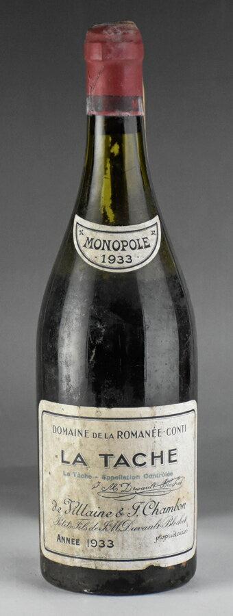 【送料無料】 [1933] ドメーヌ・ド・ラ・ロマネ・コンティ DRC ラ・ターシュフランス / ブルゴーニュ / 赤ワイン