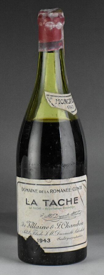 【送料無料】 [1943] ドメーヌ・ド・ラ・ロマネ・コンティ DRC ラ・ターシュフランス / ブルゴーニュ / 赤ワイン