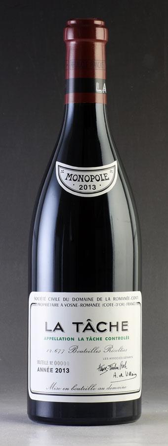 【送料無料】 [2013] ラ・ターシュLa Tacheドメーヌ・ド・ラ・ロマネ・コンティ DRCフランス / ブルゴーニュ / 赤ワイン