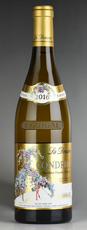 [2016] ギガル コンドリュー・ラ・ドリアーヌ ※ラベル破れフランス / ローヌ / 白ワイン