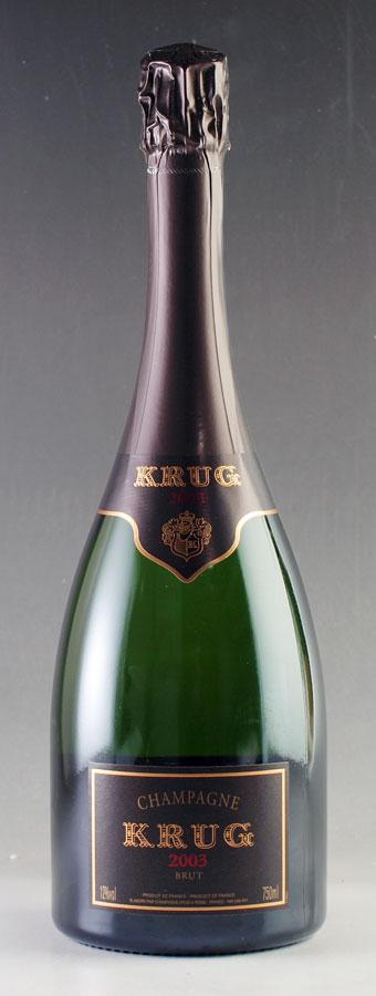 [2003] クリュッグ ヴィンテージ 【箱なし】フランス / シャンパーニュ / 発泡・シャンパン
