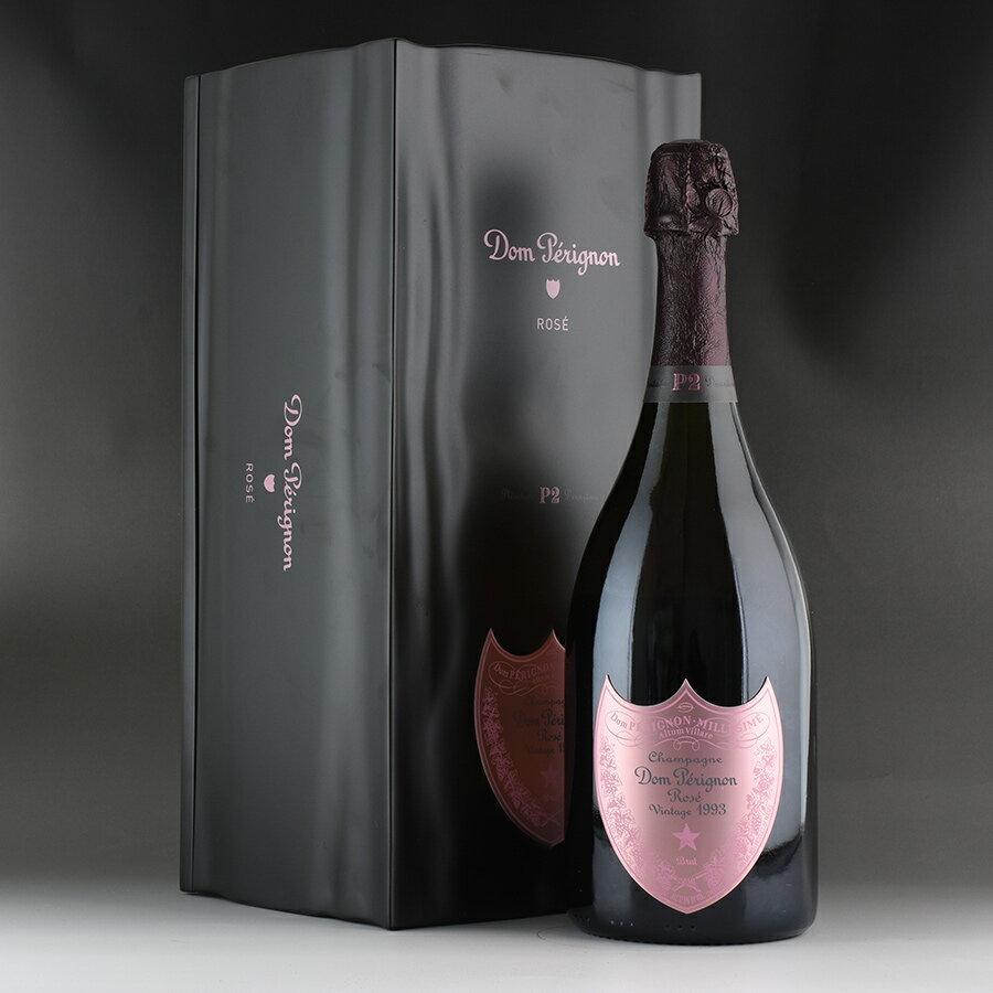[1993] ドン・ペリニヨン P2 ロゼ 【ギフト箱】フランス / シャンパーニュ / 発泡系・シャンパン