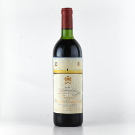 1983 シャトー・ムートン・ロートシルトフランス / ボルドー / 赤ワイン