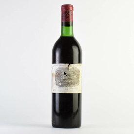 【決算SALE】[1967] シャトー・ラフィット・ロートシルト ※ラベル破れ、コルク下がりフランス / ボルドー / 赤ワイン[のこり1本]