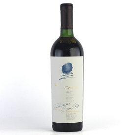 オーパスワン 1990 液漏れ オーパス ワン オーパス・ワン カリフォルニア ナパ 赤ワイン