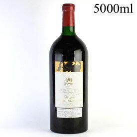 【大感謝祭】1974 シャトー・ムートン・ロートシルト 5000ml ※液漏れフランス / ボルドー / 赤ワイン[のこり1本]