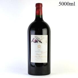 【大感謝祭】1996 シャトー・ムートン・ロートシルト 5000mlフランス / ボルドー / 赤ワイン[のこり1本]