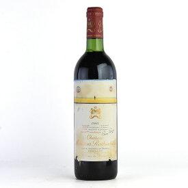 1983 シャトー・ムートン・ロートシルト※ラベル不良フランス / ボルドー / 赤ワイン