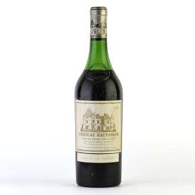 シャトー オーブリオン 1966 コルク沈み ラベル不良 オー ブリオン フランス ボルドー 赤ワイン