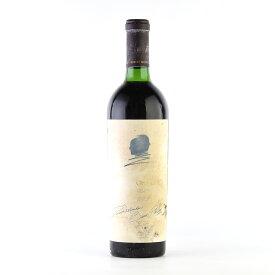 【決算SALE】[1988] オーパス・ワン※ラベル不良アメリカ / カリフォルニア / 赤ワイン