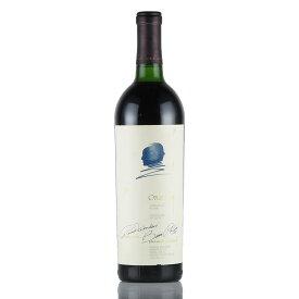 【大感謝祭】1984 オーパス・ワン ※ラベル不良アメリカ / カリフォルニア / 赤ワイン