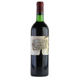 シャトー ラフィット ロートシルト 1975 キャップシール不良 ラベル不良 ロスチャイルド フランス ボルドー 赤ワイン[のこり1本]