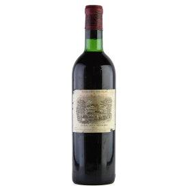 【決算SALE】[1971] シャトー・ラフィット・ロートシルト ※ラベル破れ、汚れフランス / ボルドー / 赤ワイン[のこり1本]