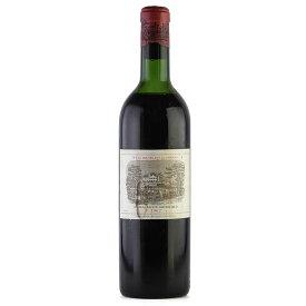 【決算SALE】[1962] シャトー・ラフィット・ロートシルト ※ラベル汚れフランス / ボルドー / 赤ワイン[のこり1本]