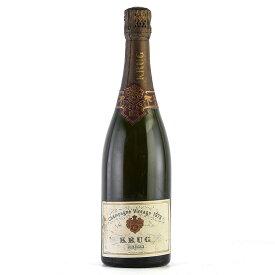 【大感謝祭】1973 クリュッグ ヴィンテージ 750mlKrug Vintageフランス / シャンパーニュ / 発泡・シャンパン