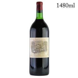 【大感謝祭】1974 シャトー・ラフィット・ロートシルト マグナム 1480ml※ラベル汚れありフランス / ボルドー / 赤ワイン[のこり1本]