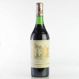 【大感謝祭】1982 シャトー・オー・ブリオン ※ラベル退色・汚れ・擦れフランス / ボルドー / 赤ワイン[のこり1本]