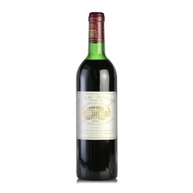【大感謝祭】1982 シャトー・マルゴー ※キャップシール不良フランス / ボルドー / 赤ワイン[のこり1本]