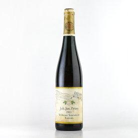 [1983] ヨハン・ヨゼフ・プリュムヴェレナー ゾンネンウーア リースリング アイスヴァイン※液漏れドイツ / 白ワイン