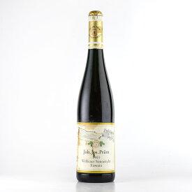 1983 ヨハン・ヨゼフ・プリュムヴェレナー ゾンネンウーア リースリング アイスヴァイン※液漏れ、ラベル不良ドイツ / 白ワイン[のこり1本]