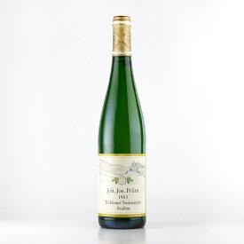 [1983] ヨハン・ヨゼフ・プリュムヴェレナー ゾンネンウーア リースリング アウスレーゼドイツ / 白ワイン