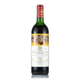 シャトー ムートン ロートシルト 1987 ロスチャイルド フランス ボルドー 赤ワイン