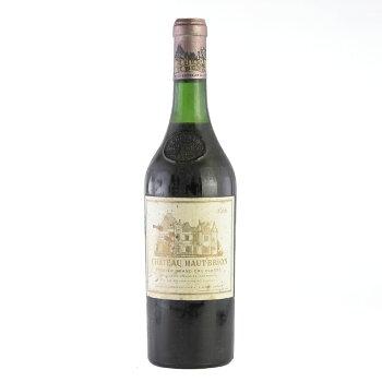 【大感謝祭】1966シャトー・オー・ブリオン※ラベル汚れ・擦れ・一部変色ありフランス/ボルドー/赤ワイン