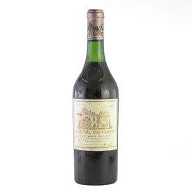 シャトー オーブリオン 1966 ラベル汚れ 擦れ 一部変色あり オー ブリオン フランス ボルドー 赤ワイン