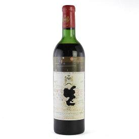 シャトー ムートン ロートシルト 1971 ラベル不良 ロスチャイルド フランス ボルドー 赤ワイン