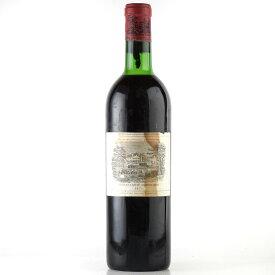 シャトー ラフィット ロートシルト 1971 ラベル不良 ロスチャイルド フランス ボルドー 赤ワイン