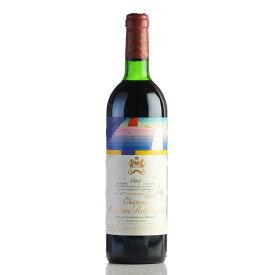 【大感謝祭】1984 シャトー・ムートン・ロートシルト※ラベル不良フランス / ボルドー / 赤ワイン