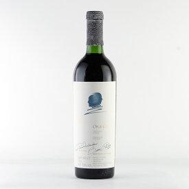 [1988] オーパス・ワン ※キャップシール不良【アウトレットB】アメリカ / カリフォルニア / 赤ワイン[のこり1本]