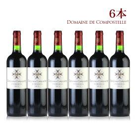 2013 ドメーヌ・ド・コンポステル 6本フランス / ボルドー / 赤ワイン